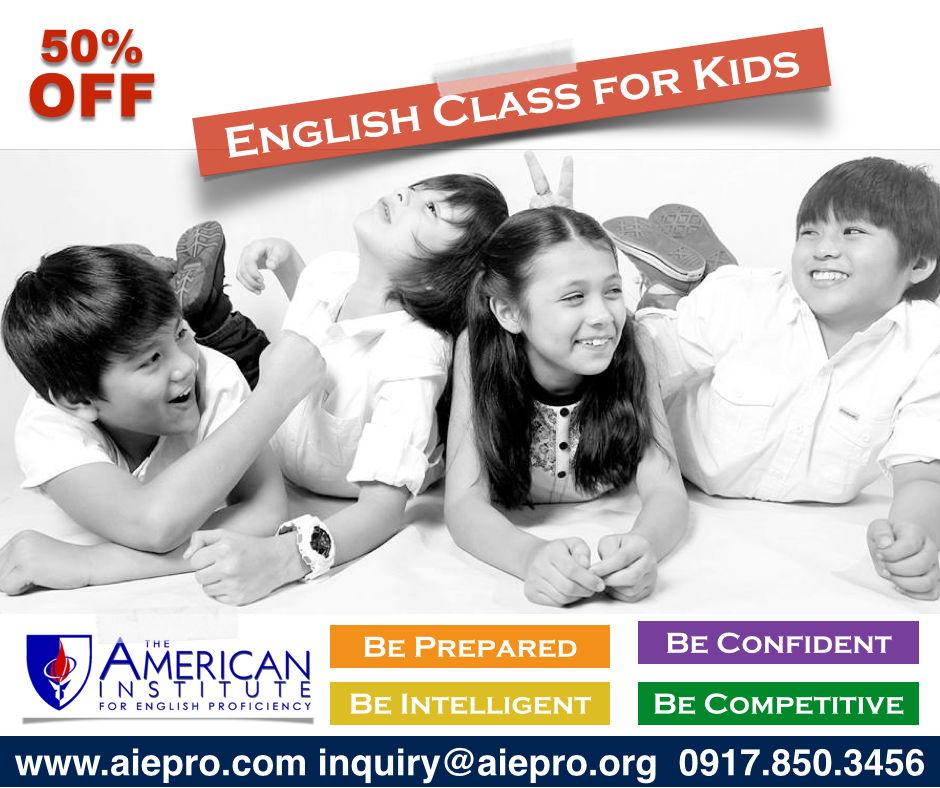 American Institute for English Profiency, Makati and Quezon City, Philippines