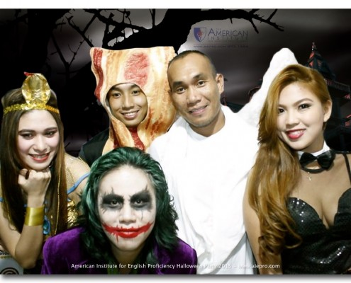 American Institute for English Proficiency, Makati and Quezon City, Philippines - Halloween Party 2015