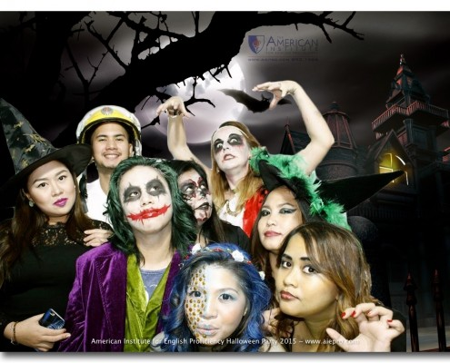 On October 30, 2015, the American Institute for English Proficiency held its 9th Annual Halloween Party at the Beacon Tower in Makati. Join the most exciting English school in the Philippines: www.aiepro.com TO SEE THE REST OF THE PHOTOS: http://aiepro.com/aiepro-gallery-photos-and-videos/