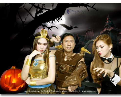 On October 30, 2015, the American Institute for English Proficiency held its 9th Annual Halloween Party at the Beacon Tower in Makati. Join the most exciting English school in the Philippines: www.aiepro.com