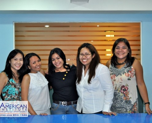 American Institute for English Proficiency, Makati and Quezon City, Philippines