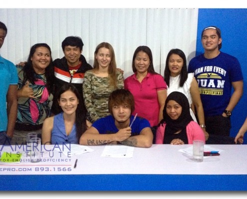 American Institute for English Proficiency, Quezon City Branch